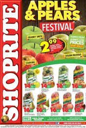 Find Specials || KZN Shoprite Apples and Pears Promo