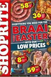 Find Specials || KZN Shoprite Easter Braai Promotions
