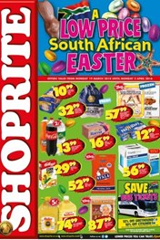 Find Specials || KZN Shoprite Easter Deals