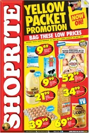 Eastern Cape Yellow Packet Shoprite Deals