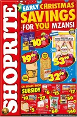 Find Specials || Shoprite Early Christmas Savings