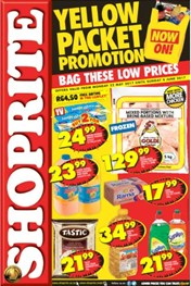 Gauteng, Limpopo, Mpumalanga, North West Shoprite Specials
