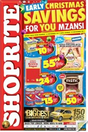 Shoprite Daily Specials 13 Nov 2017 19 Nov 2017 Black