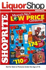 Find Specials || Shoprite Nationwide Festive Liquor Deals