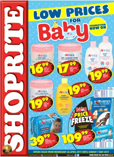 Northern Cape Free State Shoprite Baby Promotions 26 Apr