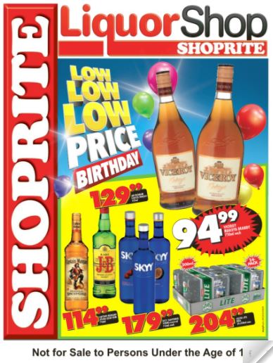 Northern Cape Free State Shoprite Liquor Deals 24 Jul