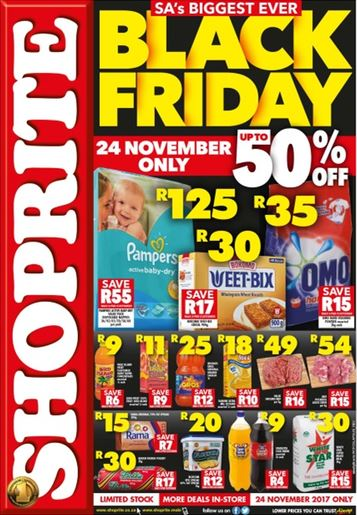 Wc Shoprite Black Friday Sale Catalogue 23 Nov 2017 24