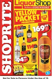 Western Cape Shoprite LiquorShop Deals