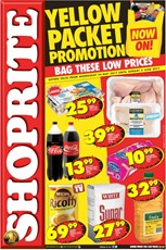 Find Specials || Western Cape Yellow Packet Shoprite Specials