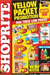 KZN Yellow Packet Shoprite Specials