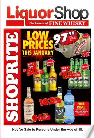 Kzn Shoprite Liquor Deals 23 Jan 2017 05 Feb 2017