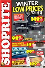 KZN Shoprite Winter Specials