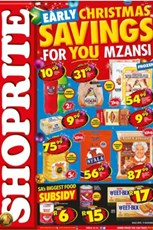 Find Specials || Shoprite Early Christmas Specials