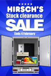 Find Specials || Hirsch's Stock Clearance Sale