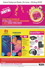 Find Specials || Game Vodacom Specials Catalogue