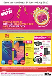 Game Vodacom Specials Catalogue