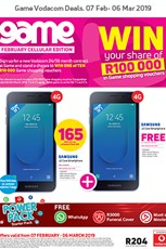 Find Specials || Game Vodacom Deals Feb