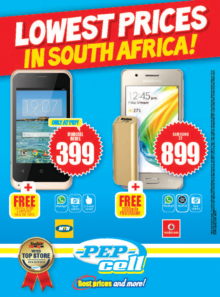 Pep Cell Specials 29 Sep 2017 09 Oct 2017 Find Specials