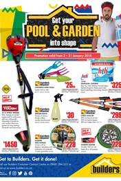 Find Specials || Builders Pool and Garden Catalogue
