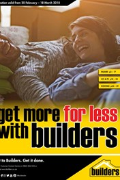 Find Specials || Builders - Get more for Less