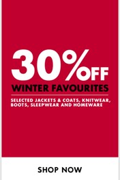Find Specials || Woolworths Winter Favourite deals