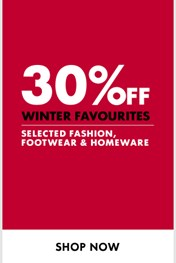 Find Specials || Woolworths Winter Clothing Sale