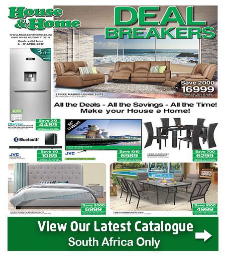 House And Home Specials 04 Apr 2017 17 Apr 2017 Find Specials