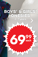 Find Specials || Pep Boys' & Girls' onesies