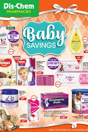 Find Specials || Dis-Chem Baby Specials Catalogue