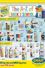Find Specials || The Crazy Store - Back to School