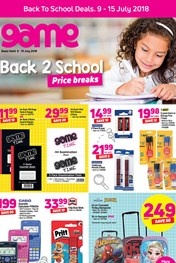 Find Specials || Back 2 School Specials at Game