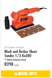 Find Specials || Builders Black and Decker Promotion