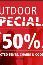 Find Specials || Cape Union Mart Camping Specials