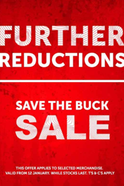 Find Specials || Cape Union Mart Save The Buck Sale