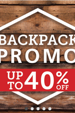 Find Specials || Cape Union Mart Backpack Sale