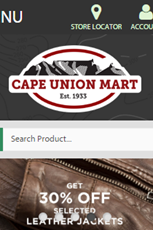Find Specials || Cape Union Mart Leather Jacket Specials