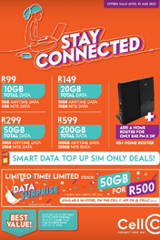 Cell C Specials and Deals Catalogue
