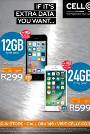 Find Specials | Cell C July Specials Catalogue