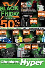 Find Specials || Checkers Hyper Black Friday Specials