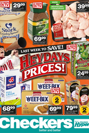 Find Specials || Gauteng, North West, Limpopo and Mpumalanga Checkers Heydays Promotions