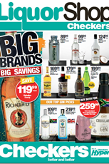 Find Specials || Gauteng, North West, Limpopo, Mpumalanga Liquor Specials from Checkers