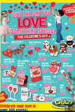 Find Specials || Crazy Store Valentine's Day Specials