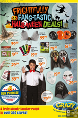 Find Specials || Crazy Store Halloween Deals