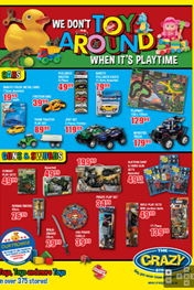 Find Specials || The Crazy Store Toy Deals