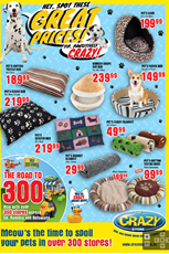 Find Specials || The Crazy Store Pet Specials
