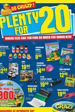 Find Specials || The Crazy Store promotions