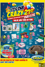 Find Specials || Crazy Store Birthday Specials