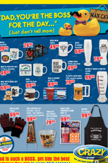 Find Specials || The Crazy Store Father's Day Specials