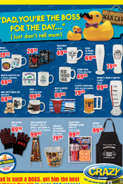 The Crazy Store Father's Day Specials