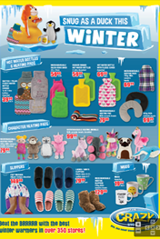 Find Specials || The Crazy Store Winter Deals